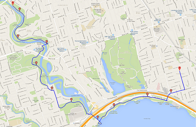 06-08-14 Bike Ride Map