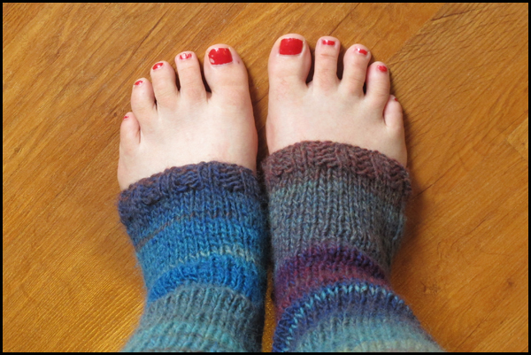 Knitted Stirrup Socks