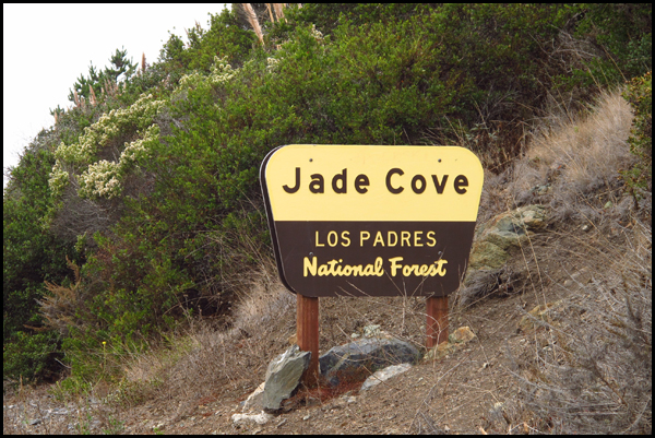 Jade Cove Signage