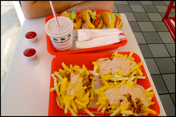 Visit to In-N-Out Burger - Oct. 13, 2012