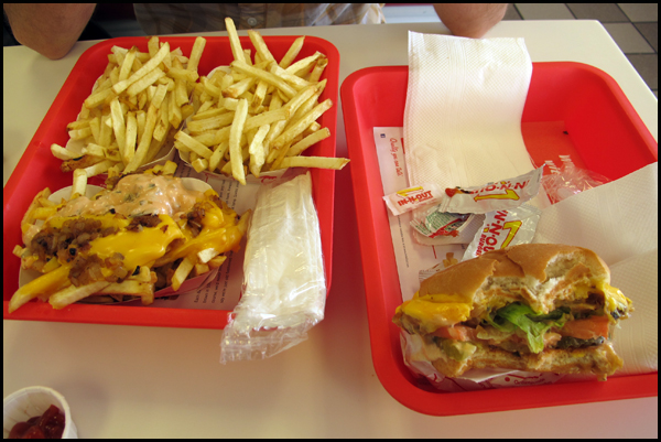 Visit to In-N-Out Burger - Oct. 16, 2012