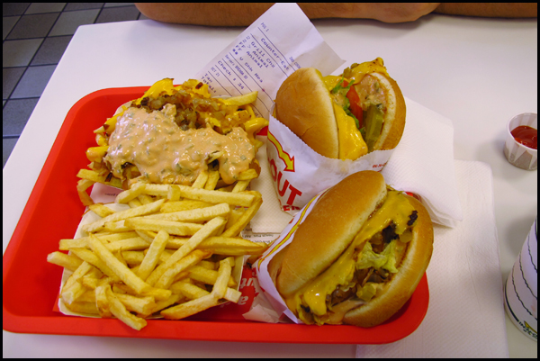 Visit to In-N-Out Burger - Oct. 21, 2012